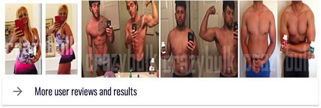 clenbuterol real users results