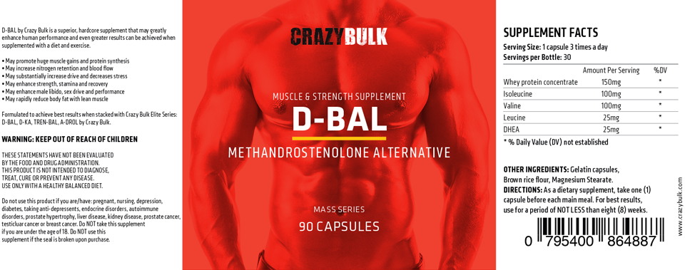 dianabol ingredients