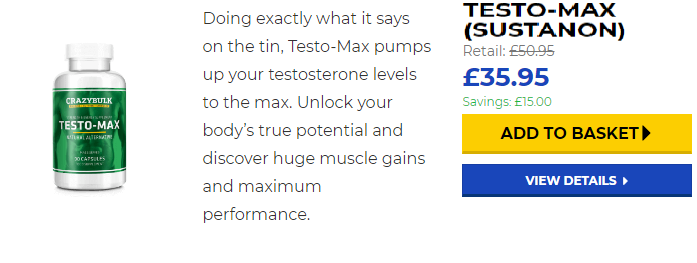 Testosterone max review